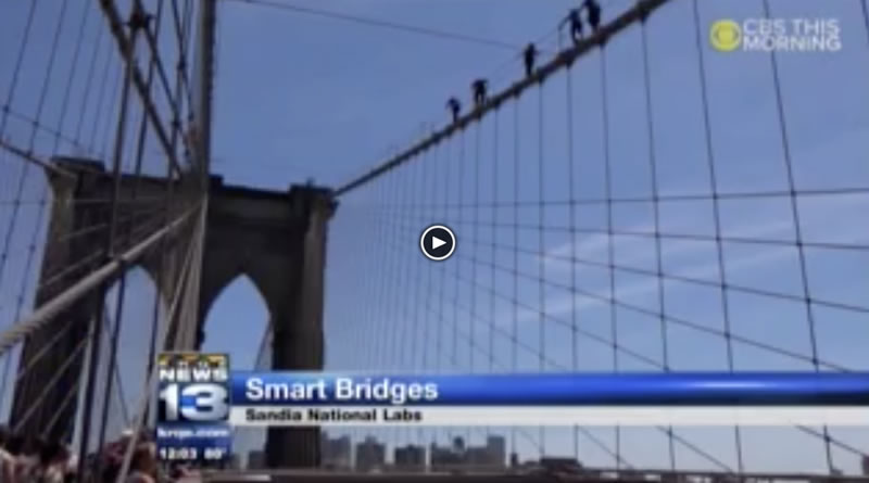 KRQE News Coverage of Bridge Monitoring