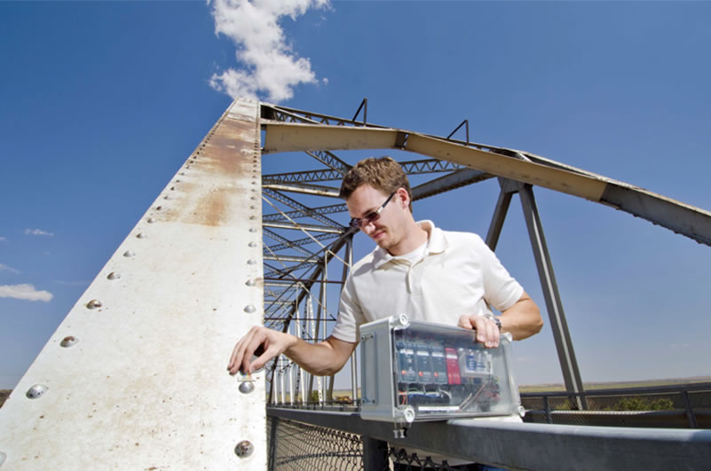 Smarter, safer bridges with Sandia sensors