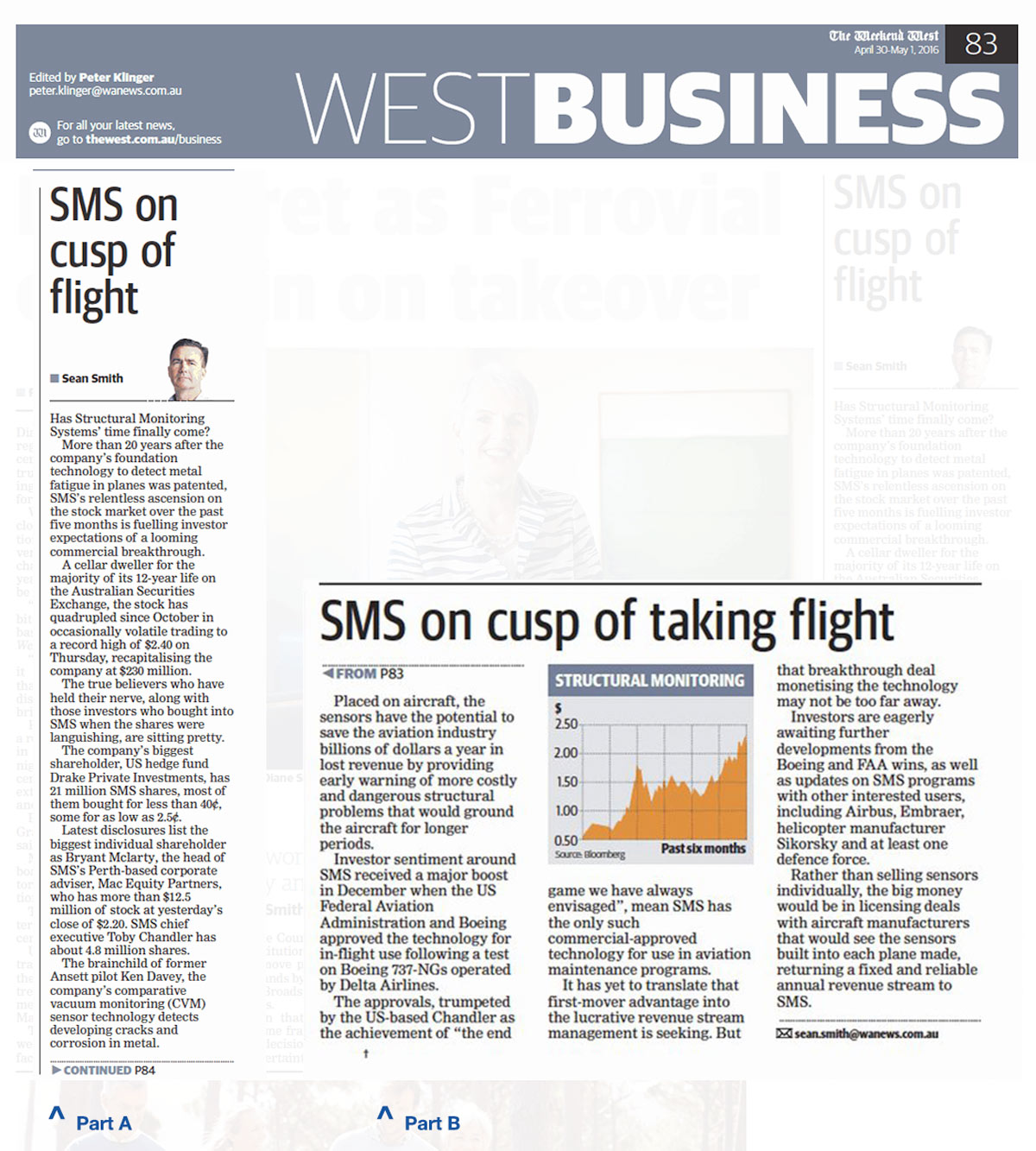 Structural Monitoring Systems - West Business Article